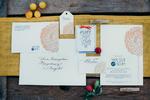 Letterpress Papeterie, Hochzeitseinladung, Personalisierung Kalligrafie
