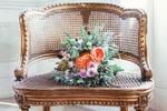 Omas Medaillon, Blumenstrauß Personalisiert, Vintage Element Hochzeit