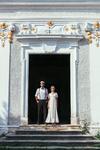 Vintage Brautkleid, Bettina Bernklau Wien, 70er Jahre Hochzeitskleid