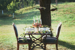 Tafel im Grünen, Vintage Wedding Außen, Catering Hochzeit Wien